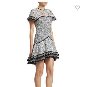 New Jonathan Simkhai mix color lace dress